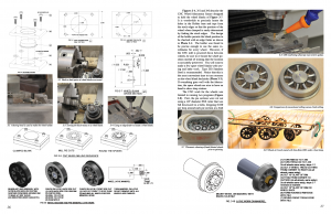 pages showing wheel fabrication